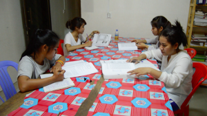 Studenten lernen